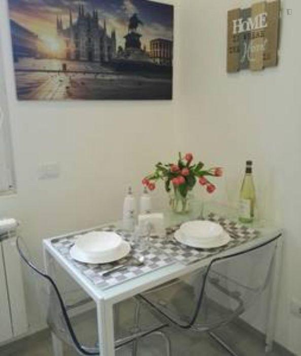 Cute 1-bedroom apartment near Milano Forlanini railway station