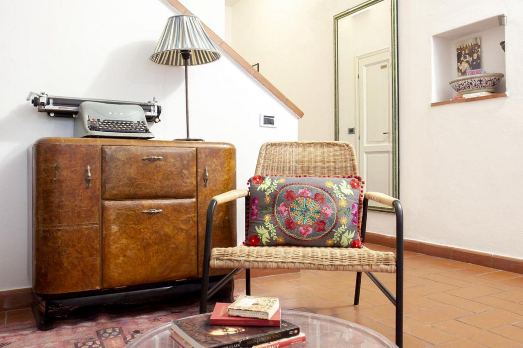 Double ensuite bedroom in a 4-bedroom house near Basilica di Santa Croce di Firenze