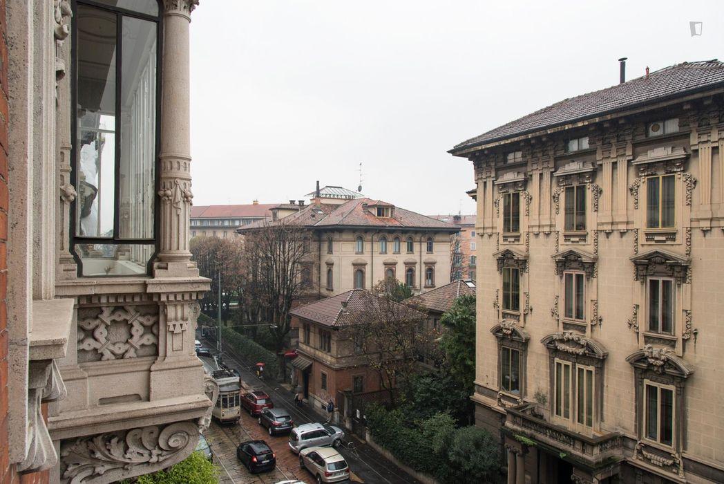 Elegant 1-bedroom apartment near Conciliazione metro station