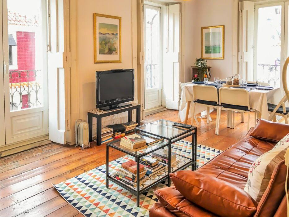 Amazing 3-bedroom apartment in Cais do Sodré