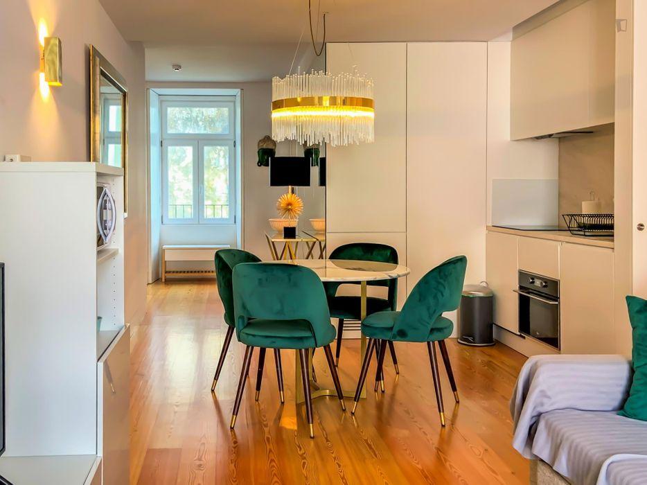 Modern 2-bedroom apartment in Baixa