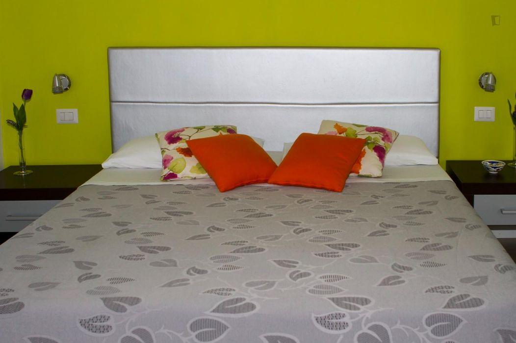 Double bedroom in a 3-bedroom apartment near Parco degli Scipioni
