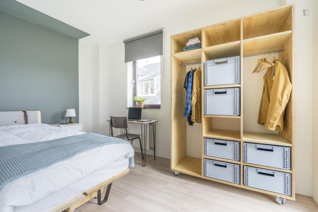Airy single bedroom in The Hague
