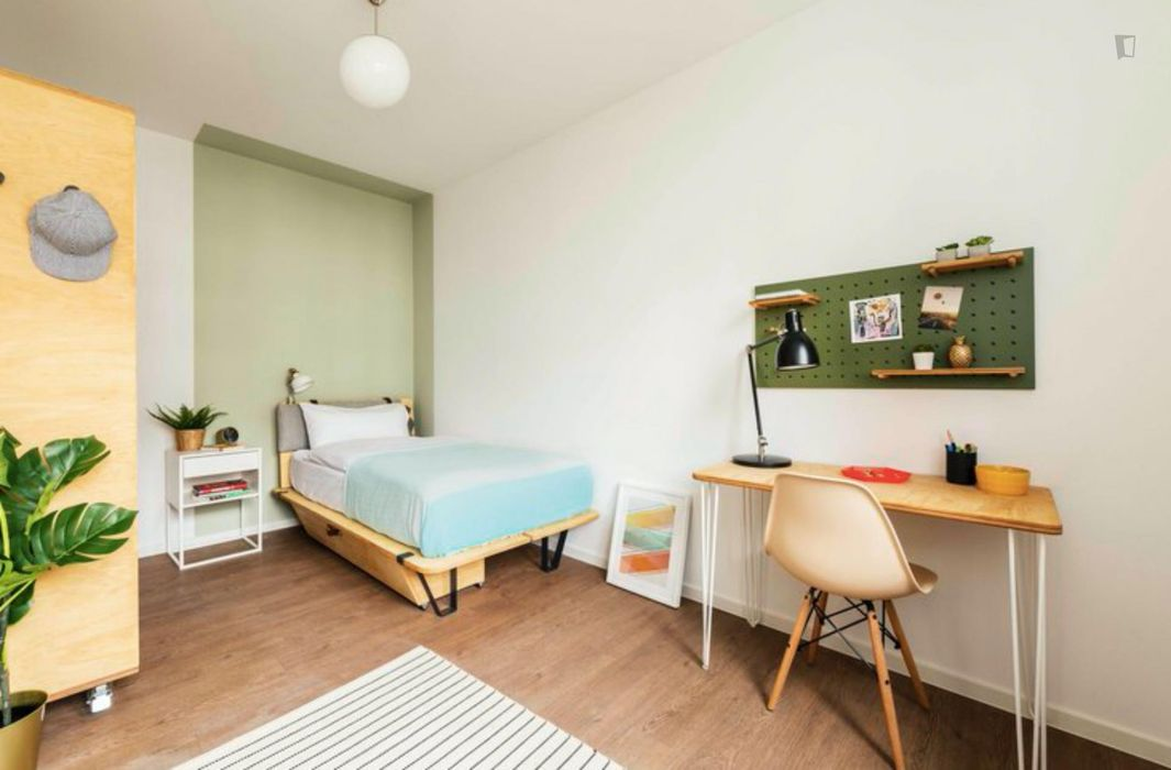 Lovely double bedroom in a 2-bedroom apartment near Fritz-Schloß Park