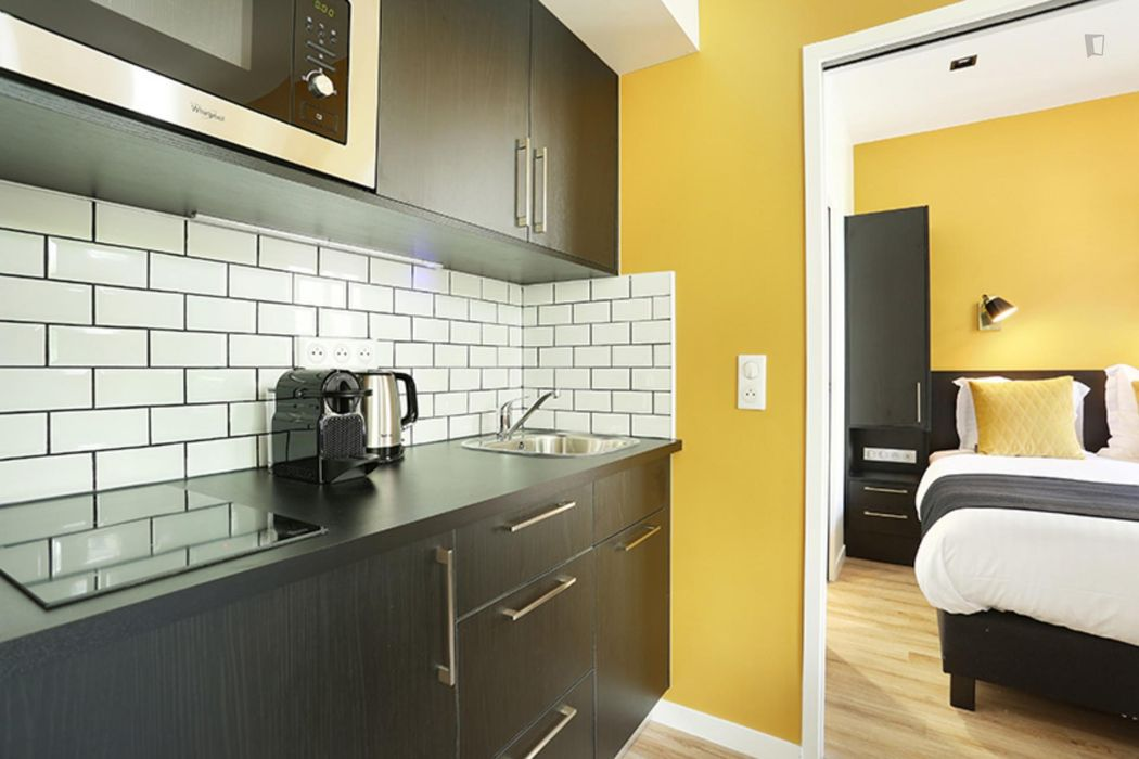 Comfy 1-bedroom apartment near Dupleix metro station - STUDENTS ONLY