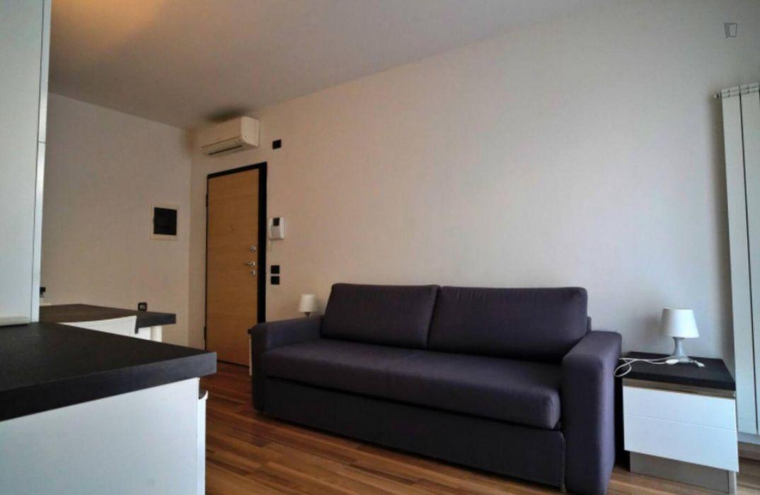 Cozy 1-bedroom flat in Bovisa