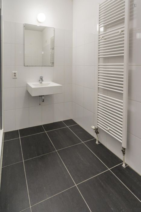 Spacious double bedroom in a 4-bedroom apartment near Amsterdam Lelylaan transport stop