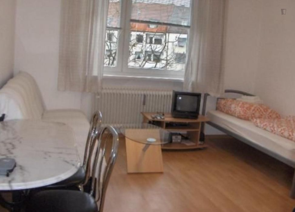 Amazing 1-bedroom apartment in Munich, right next to Olympiapark