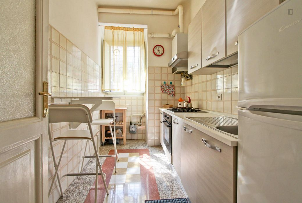 2-Bedroom apartment near Villa Torlonia