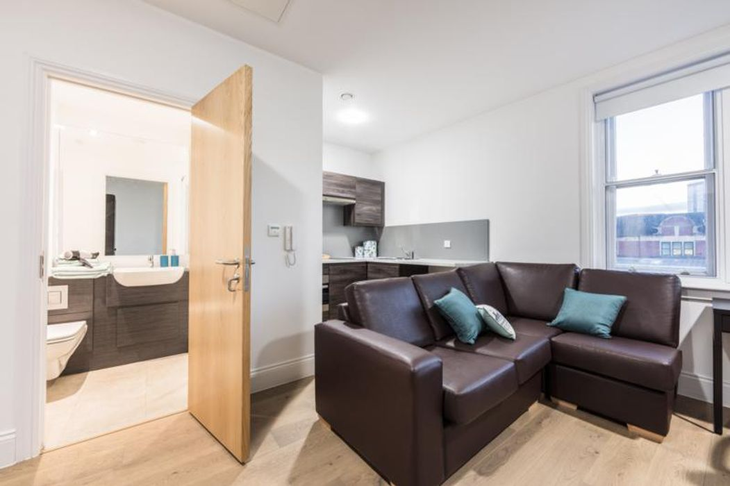 Student accommodation photo for The Bruce Building Apartments in Newcastle City Centre, Newcastle upon Tyne
