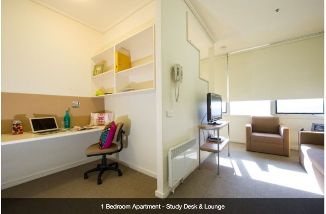 Student accommodation photo for UniLodge College Square on Lygon in Melbourne City Centre, Melbourne