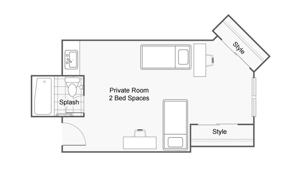 Student accommodation photo for Dobie Twenty21 in University Area, Austin