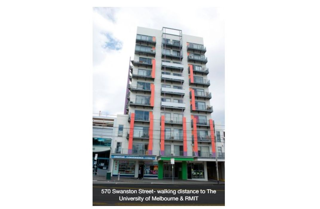 Student accommodation photo for UniLodge 570 Swanston Street in Melbourne City Centre, Melbourne