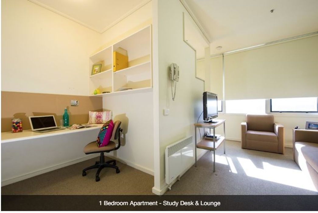 Student accommodation photo for UniLodge @ 550 Lygon in Melbourne City Centre, Melbourne