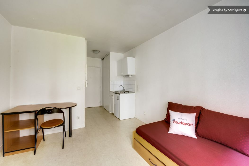 Student accommodation photo for Studea Buttes Chaumont 1 in 19th Arrondissement, Paris