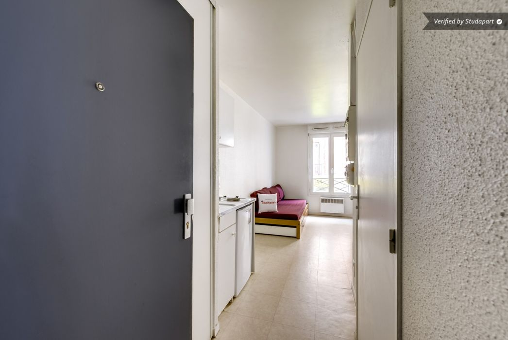 Student accommodation photo for Studea Buttes Chaumont 1 in 19th Arrondissement, Paris