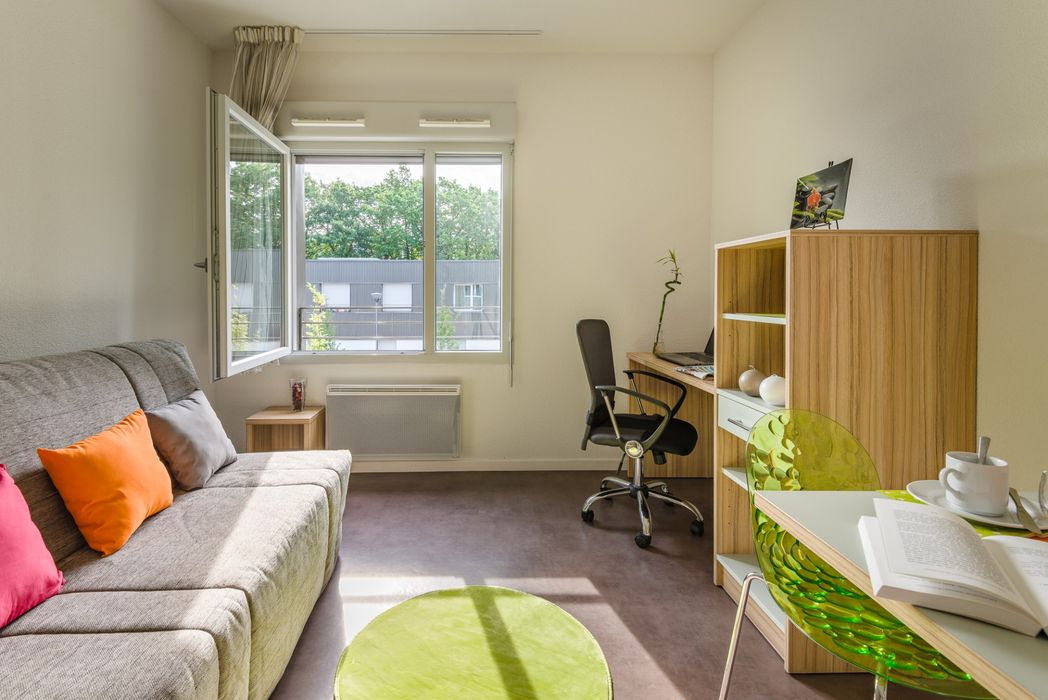 Student accommodation photo for Privilège Etudes Les Arlézines in Carquefou, Nantes
