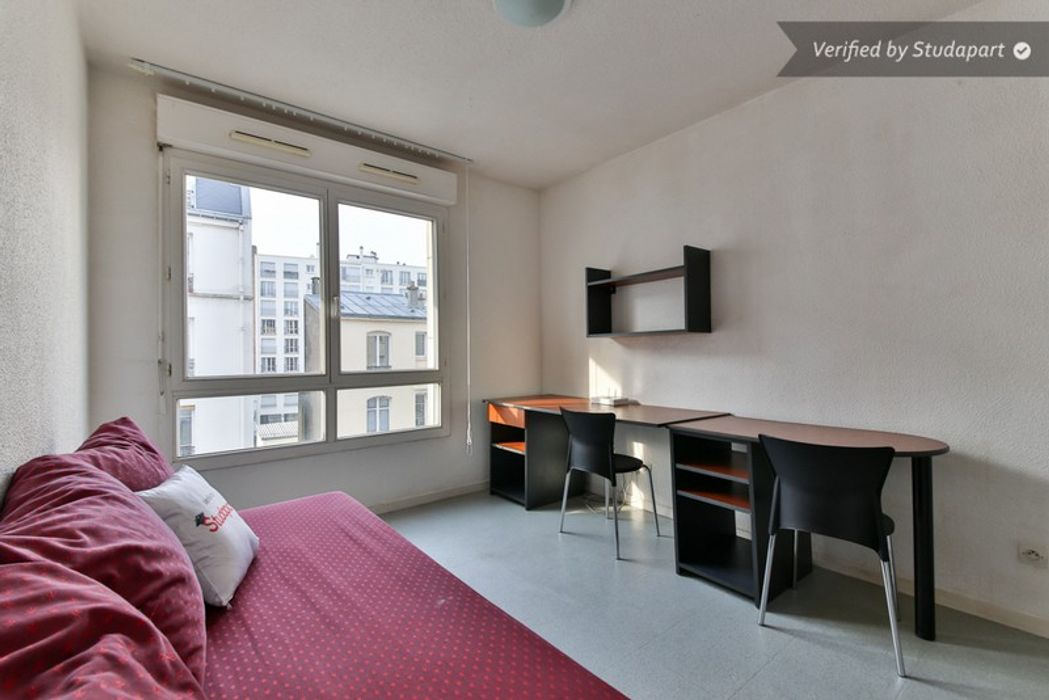 Student accommodation photo for Studea Buttes Chaumont 2 in 19th Arrondissement, Paris