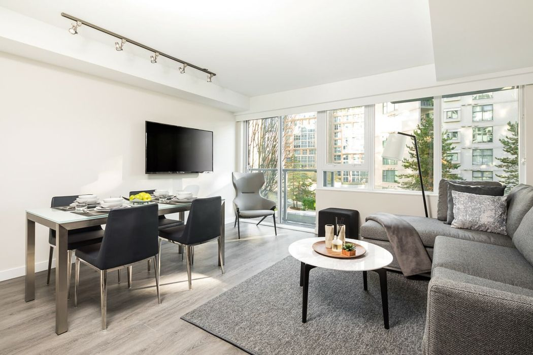 Student accommodation photo for Level Furnished Living - Richards in Downtown, Vancouver