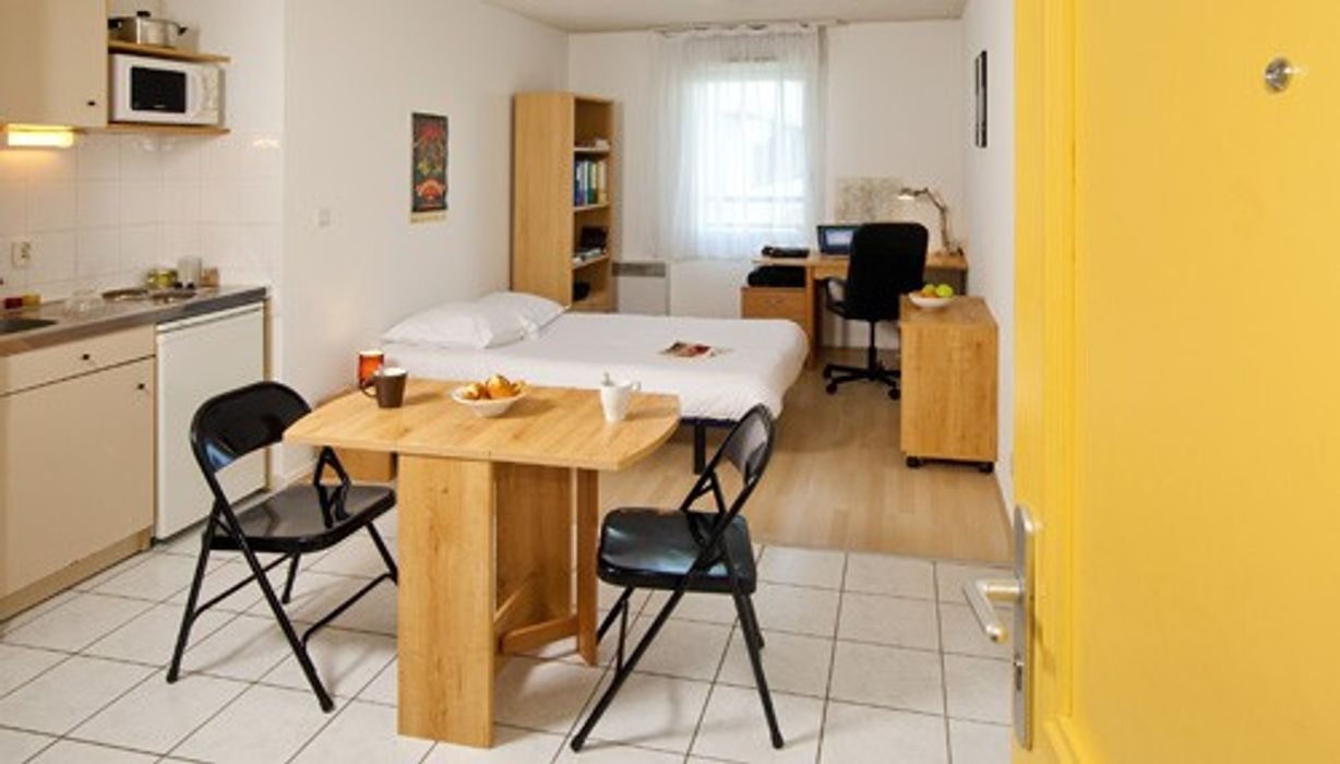 Student accommodation photo for Les Estudines René Cassin in Quartiers Nord, Nantes