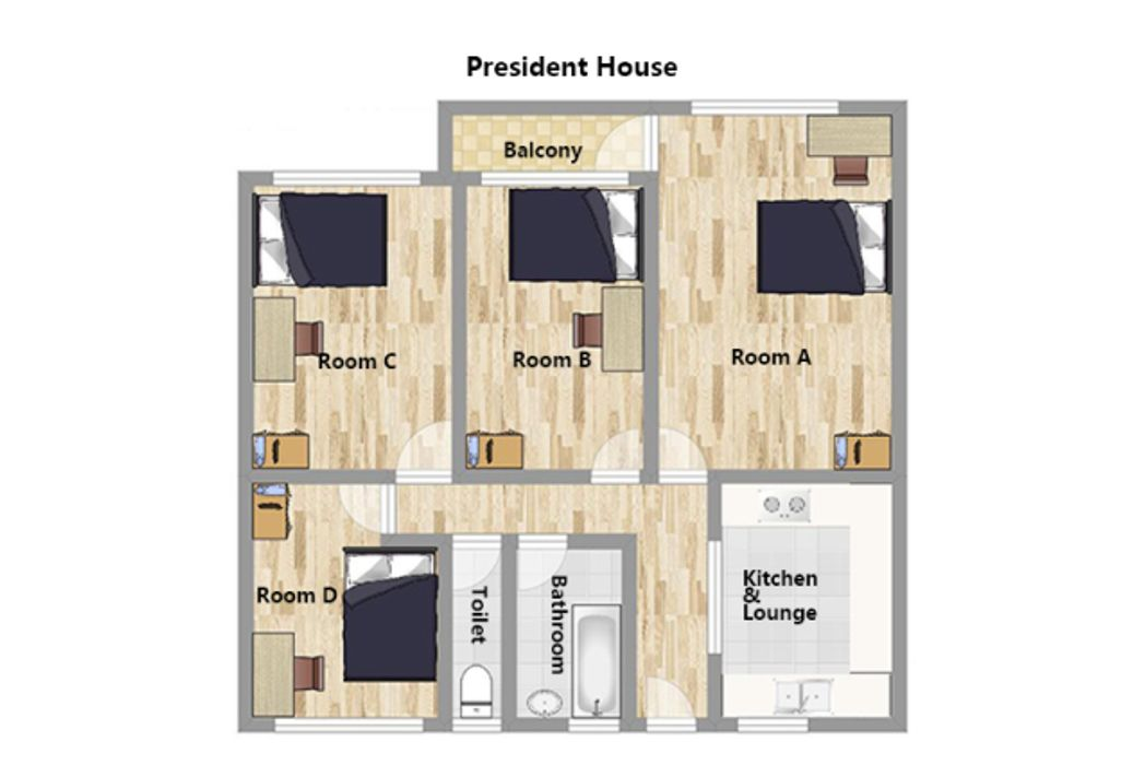 Student accommodation photo for President House C in Clerkenwell, London