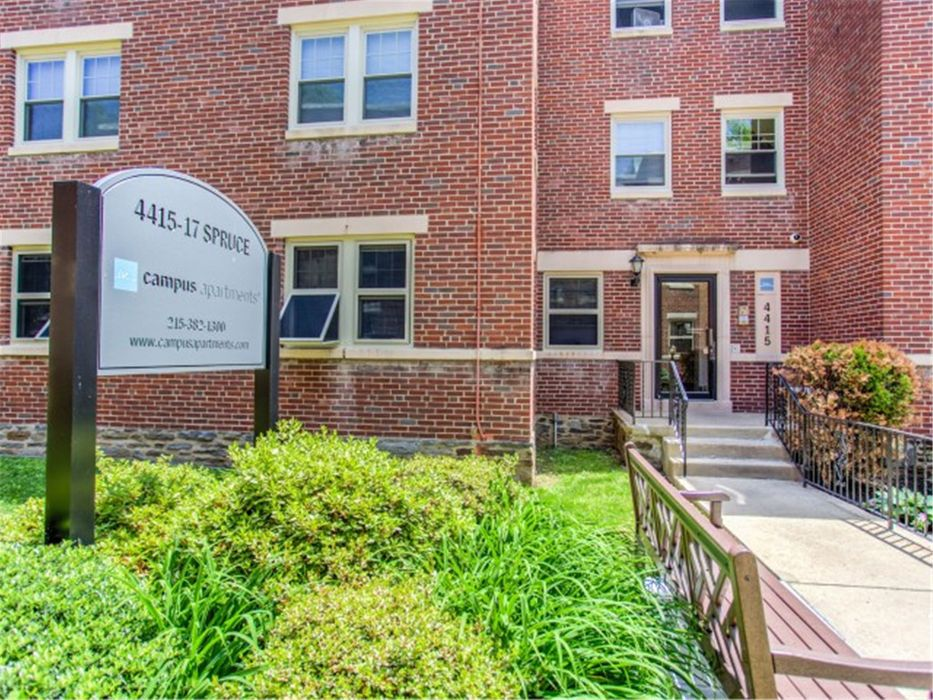 Student accommodation photo for 4417 Spruce Street - Campus Apartments in Spruce Hill, Philadelphia