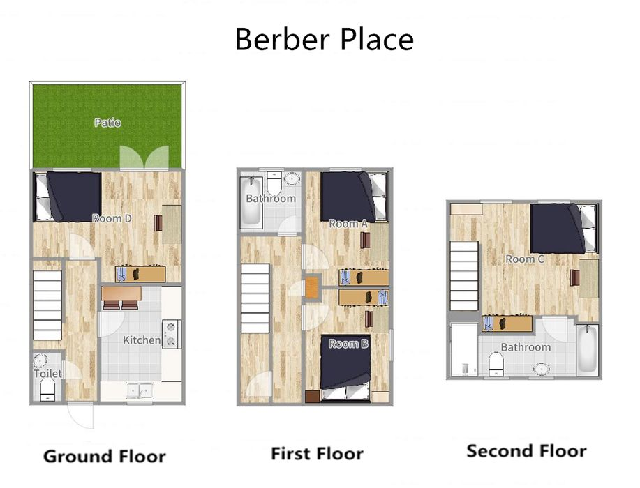 Student accommodation photo for Berber Place in Limehouse, London