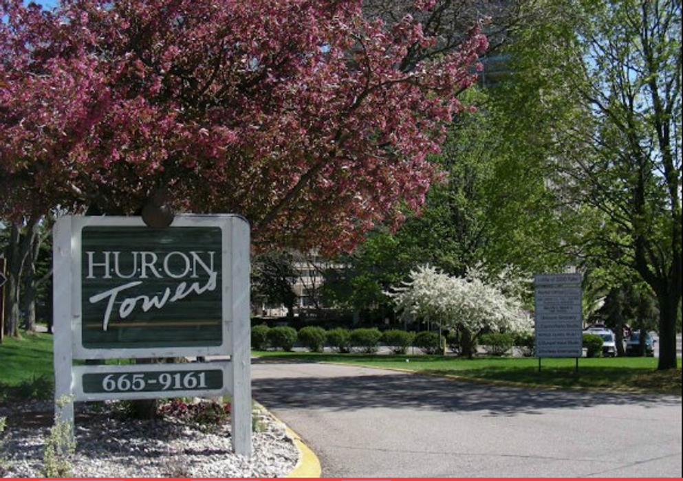 Student accommodation photo for Huron Tower Apartment in Northside Ann Arbor, Ann Arbor