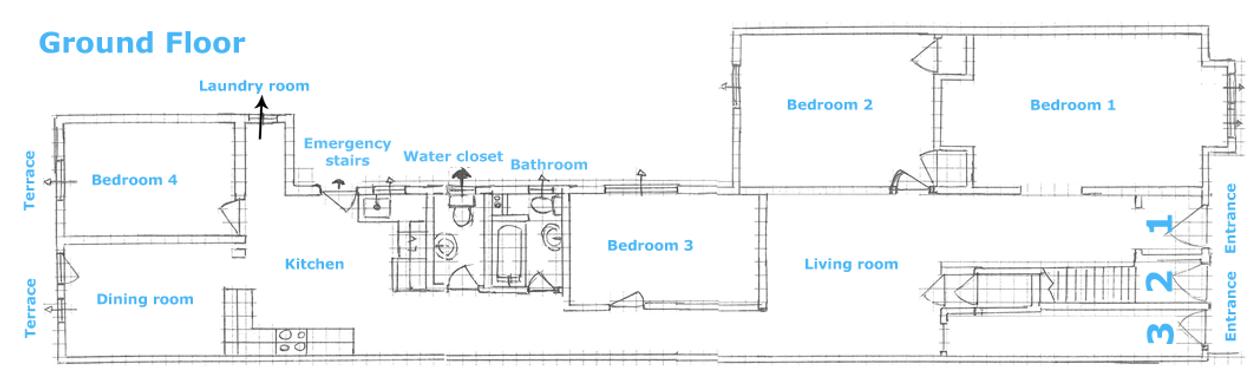 Maison Édouard Montpetit - Ground floor
