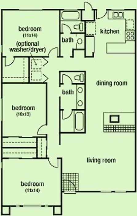 Student accommodation photo for Brisa Villas in West Park, Davis, CA